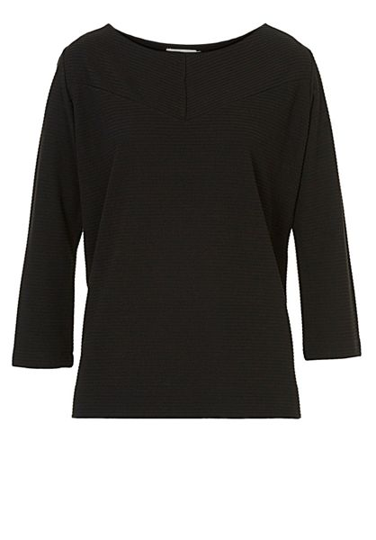 Betty & Co. Ribbed jersey top