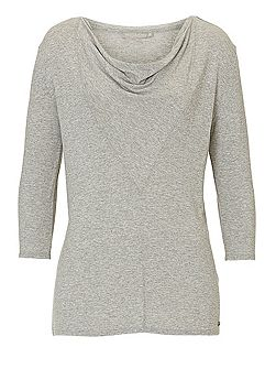 Fine knit tunic top