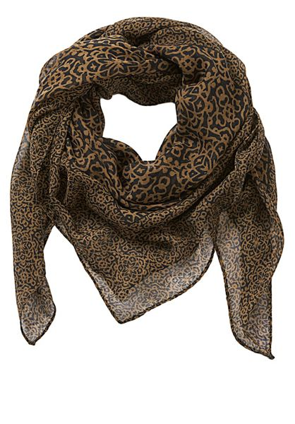 Betty Barclay Graphic print square scarf