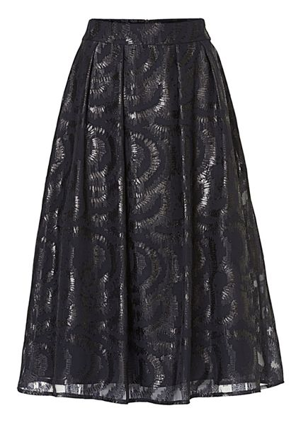 Vera Mont Layered evening skirt