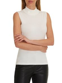 Betty Barclay Sleeveless turtle neck jumper