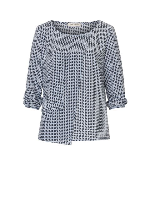 Betty Barclay Wrap-effect blouse, Blue