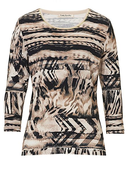 Betty Barclay Printed top, Cream