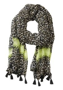 Betty Barclay Long animal print scarf