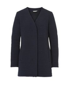 Betty Barclay Ribbed cardigan coat
