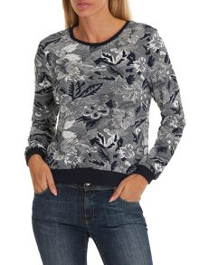 Betty Barclay Floral tapestry jumper