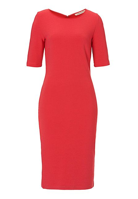 Betty Barclay Fine ribbed dress, Red