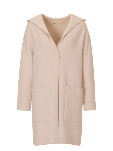 Betty Barclay Hooded coat, Cream