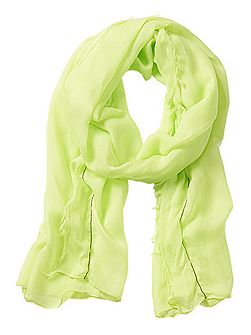 Long neon scarf