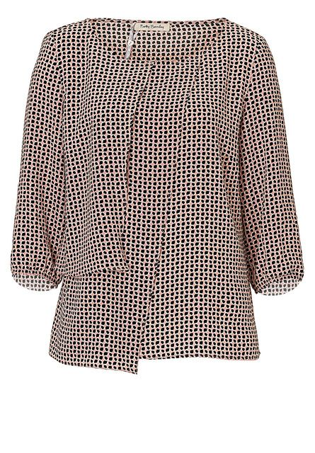 Betty Barclay Wrap-effect blouse, Pink