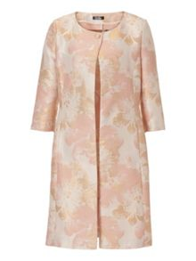 Vera Mont Printed satin dress coat