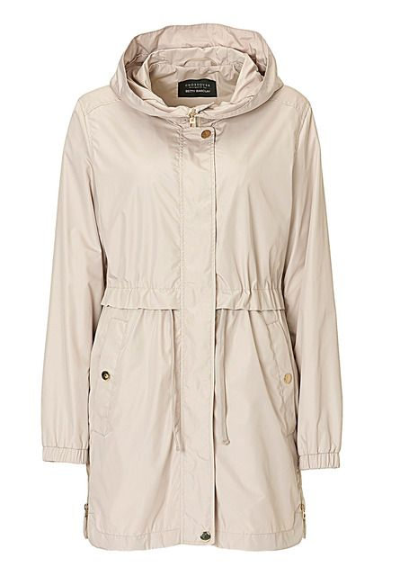 Betty Barclay Hooded parka, Cream
