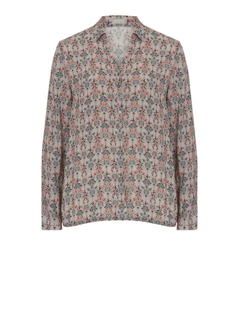 Betty & Co. Printed blouse, Grey