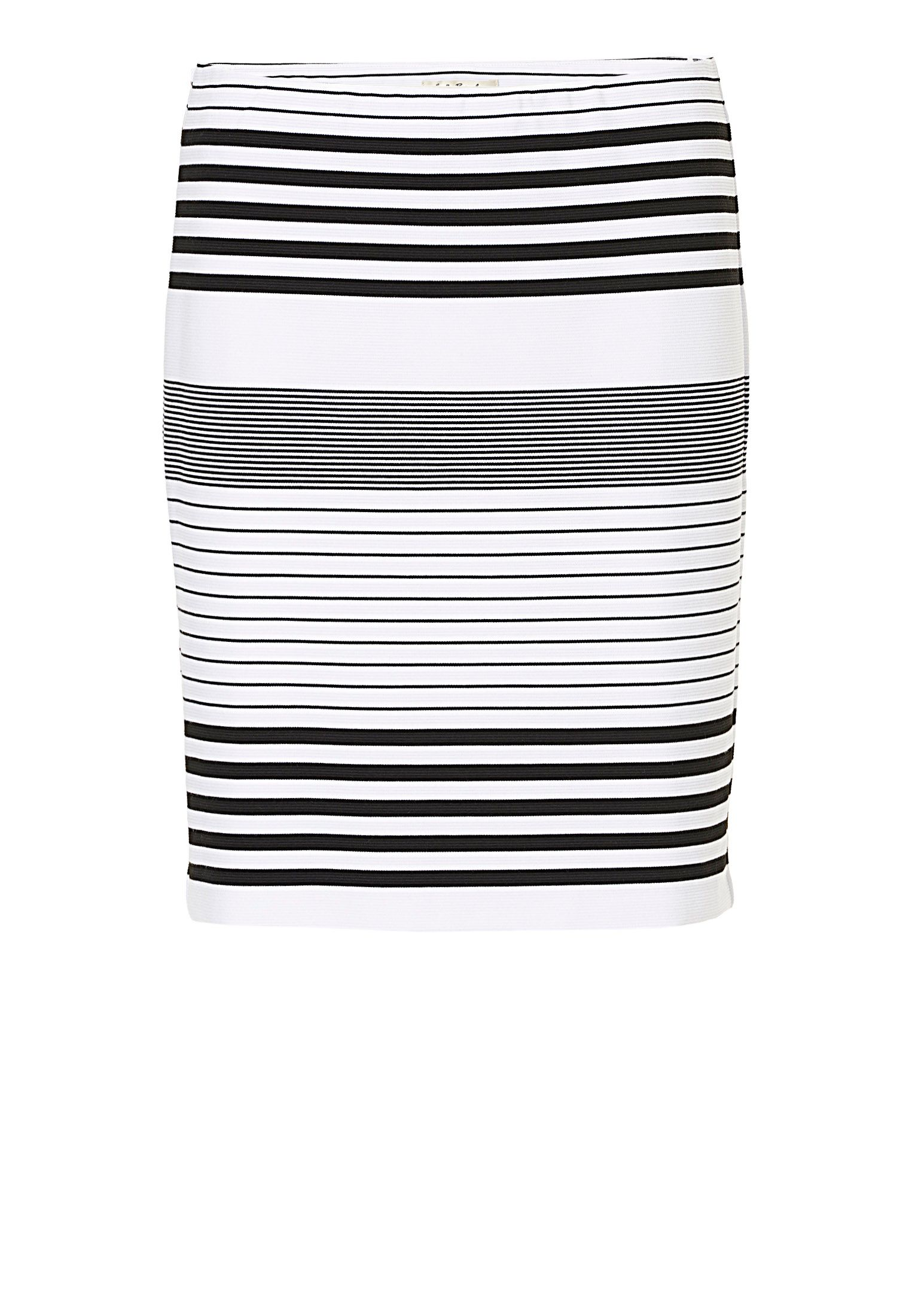 Betty Barclay Striped skirt, White