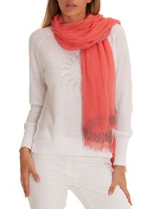 Betty Barclay Long fringed scarf