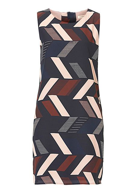 Vera Mont Graphic print dress, Blue