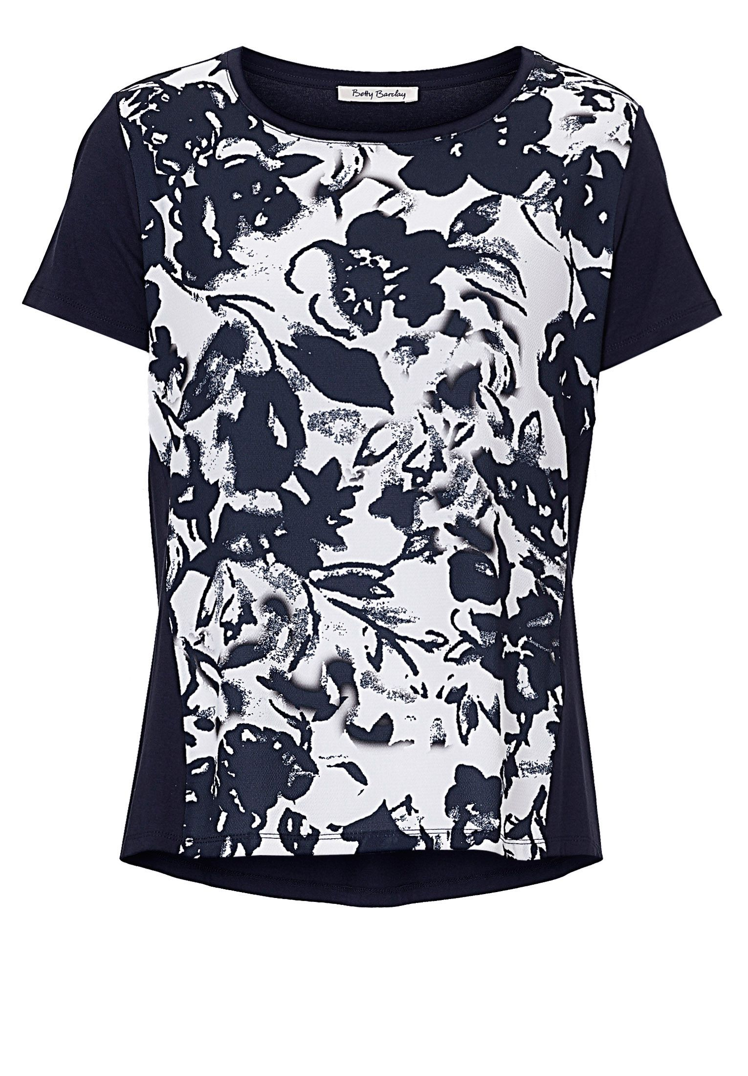 Betty Barclay Floral print top, Cream