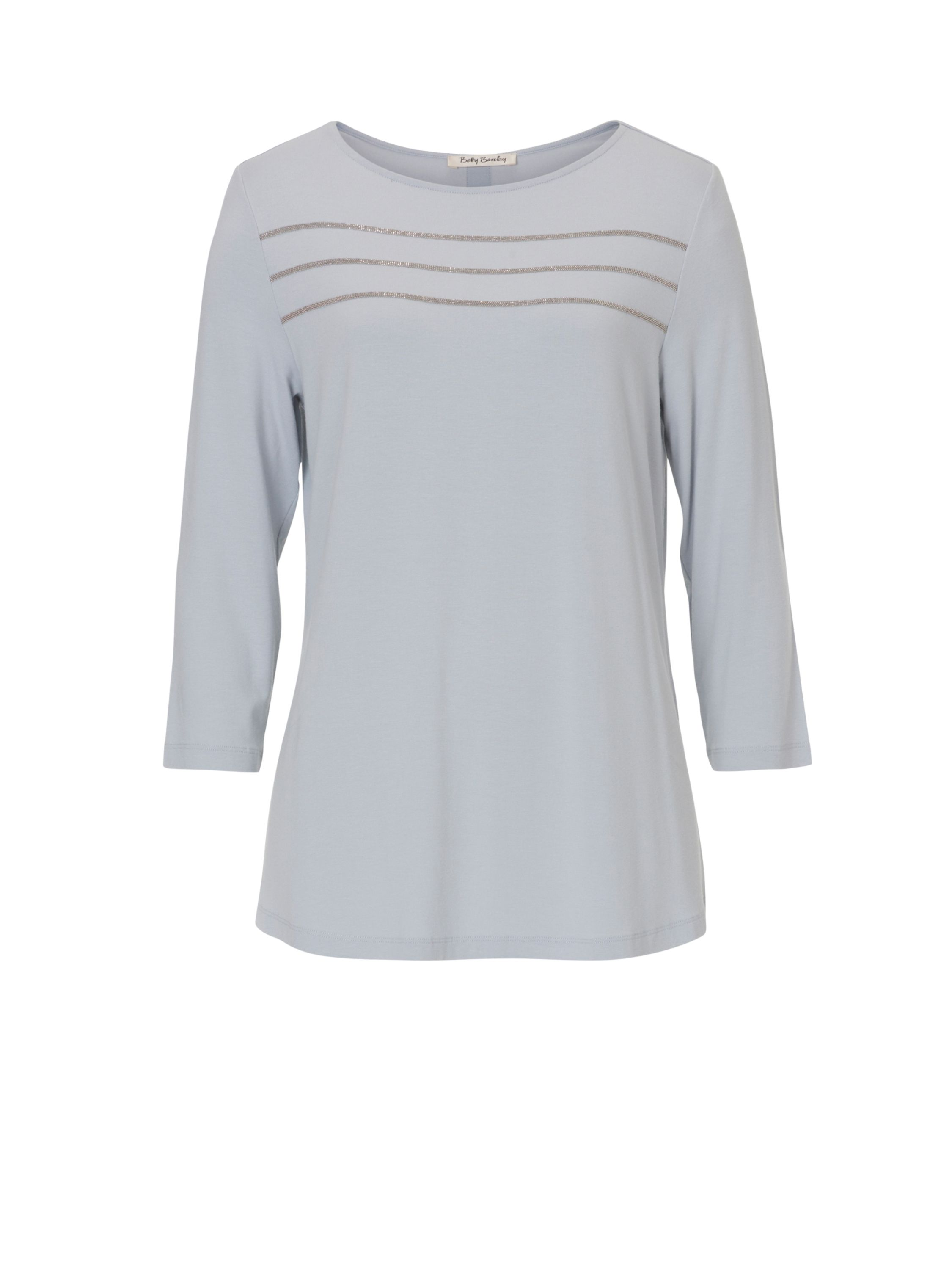 Betty Barclay Embellished T-shirt, Silver
