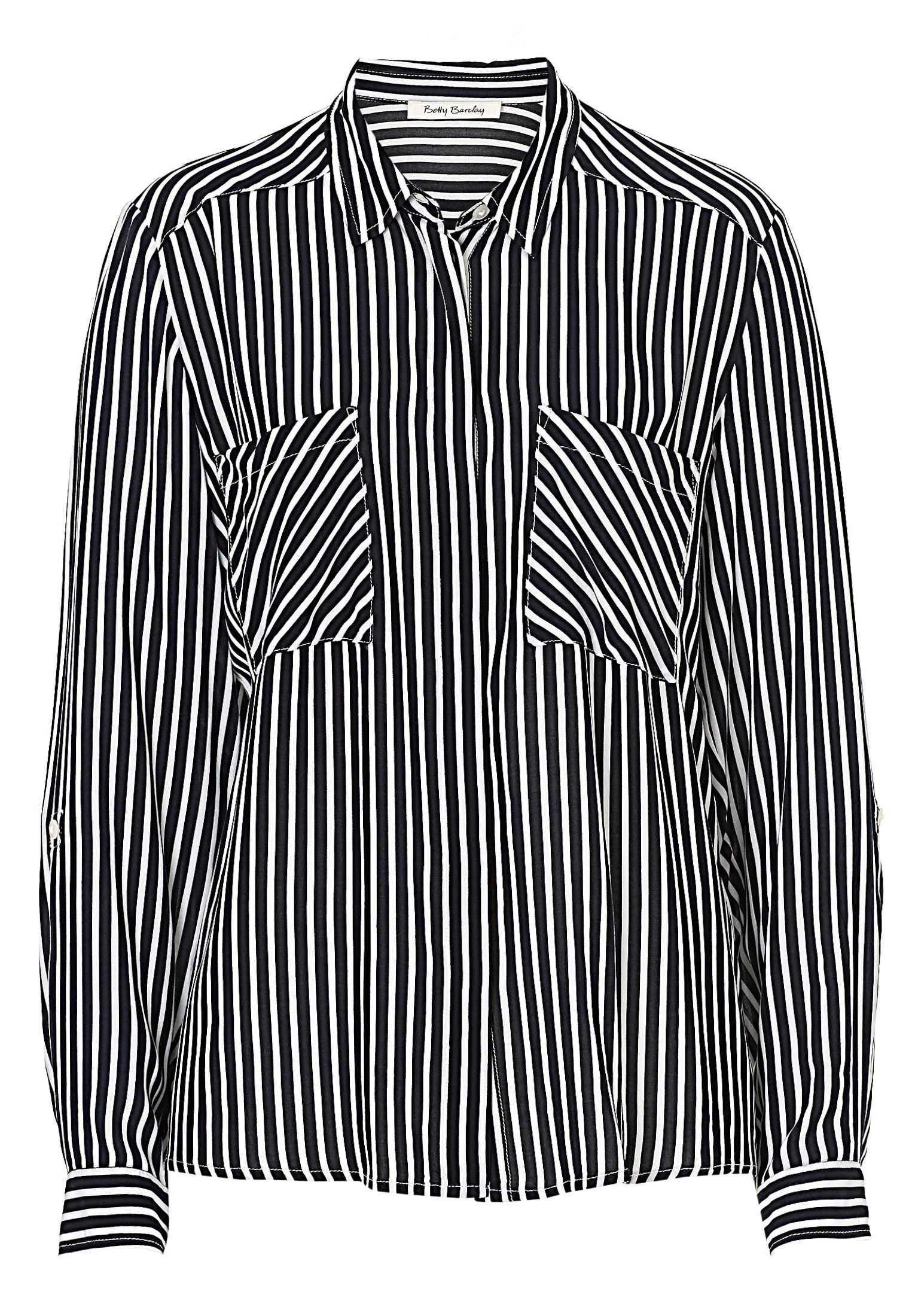 Betty Barclay Striped shirt, Cream