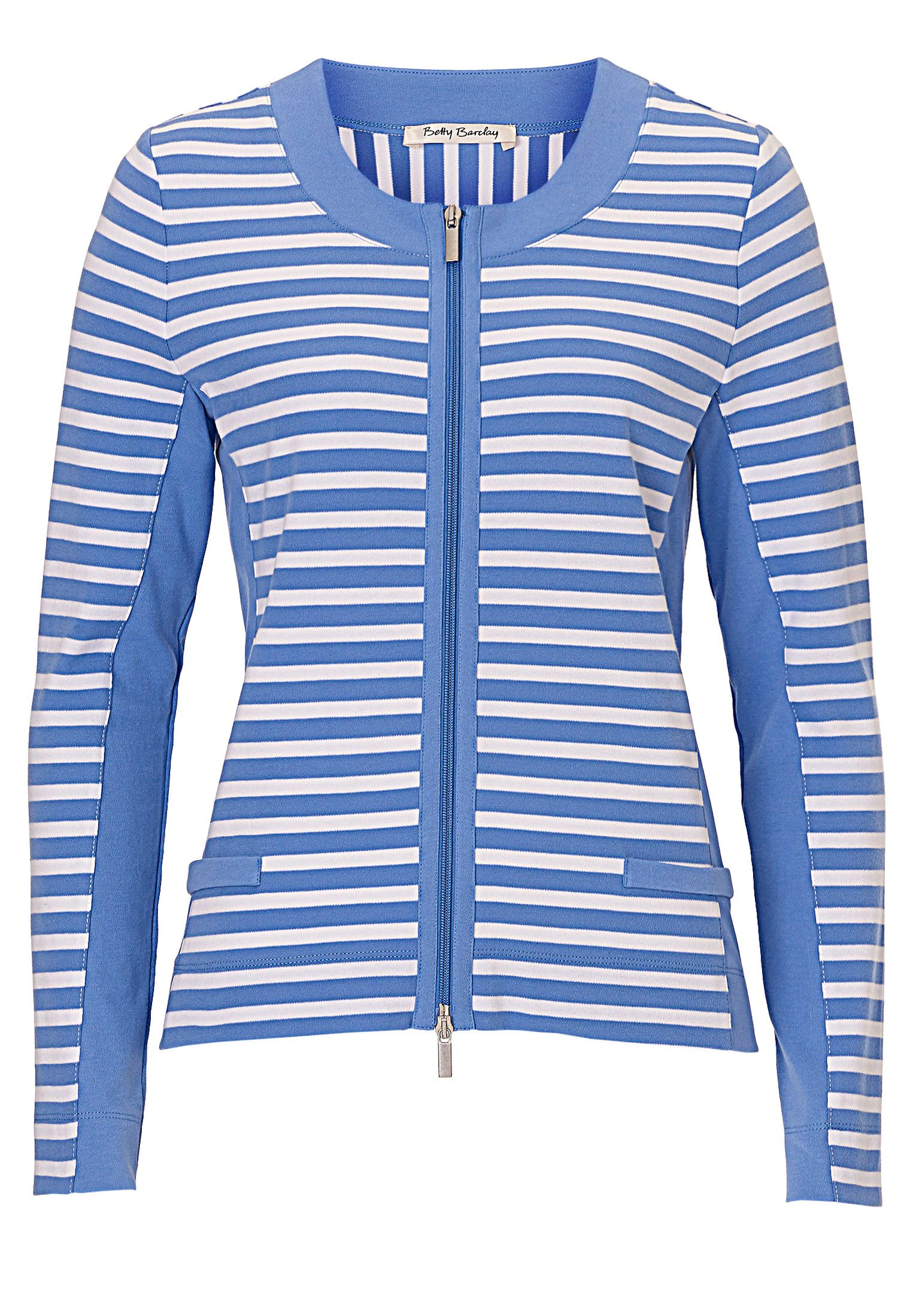 Betty Barclay Sporty striped cardigan, Multi-Coloured