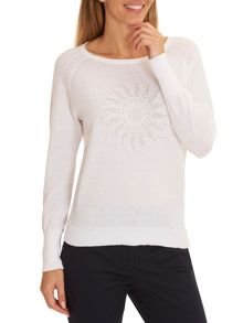 Betty Barclay Fine knit embellished jumper