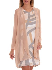 Vera Mont Chiffon dress coat