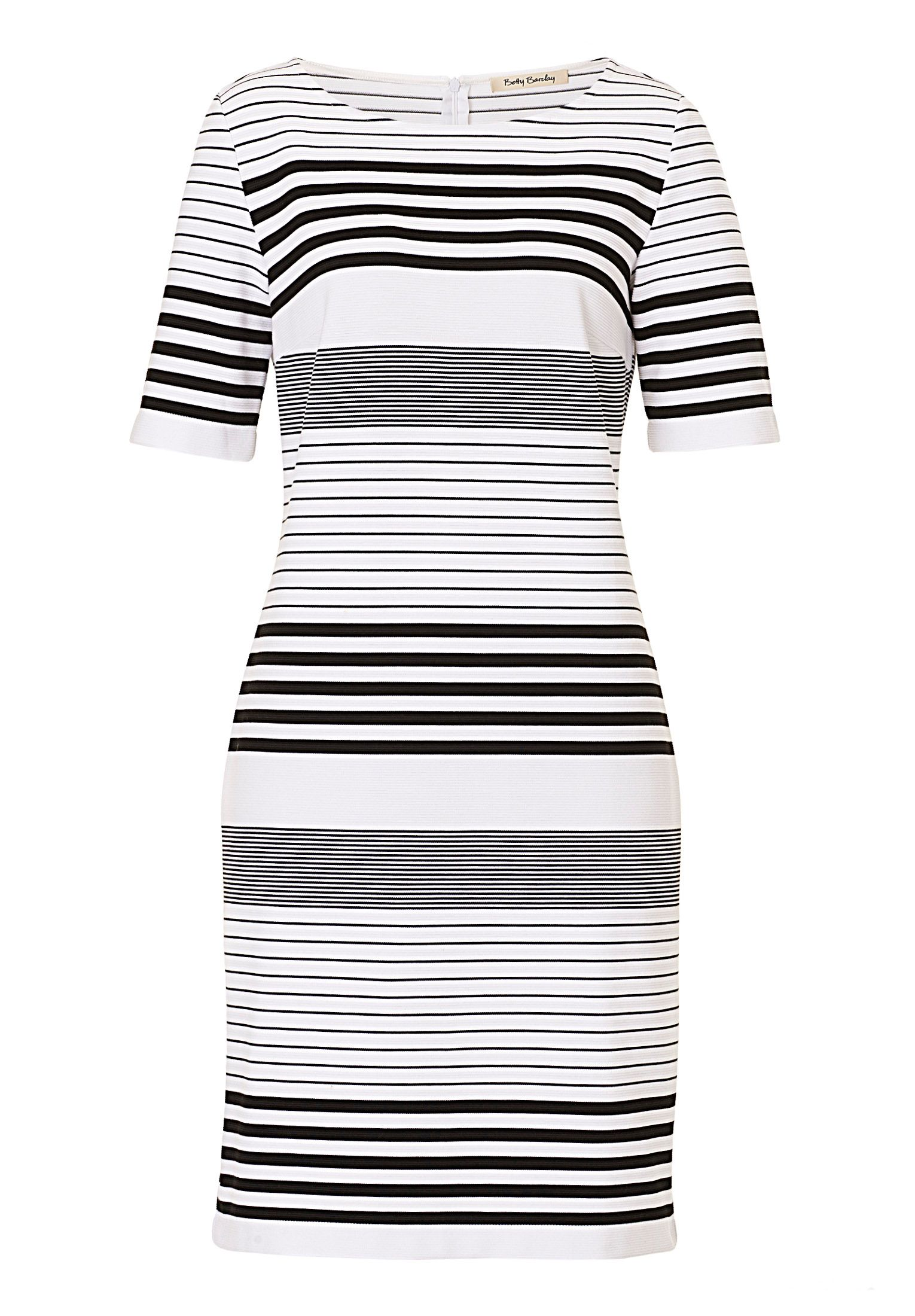 Betty Barclay Striped shift dress, White