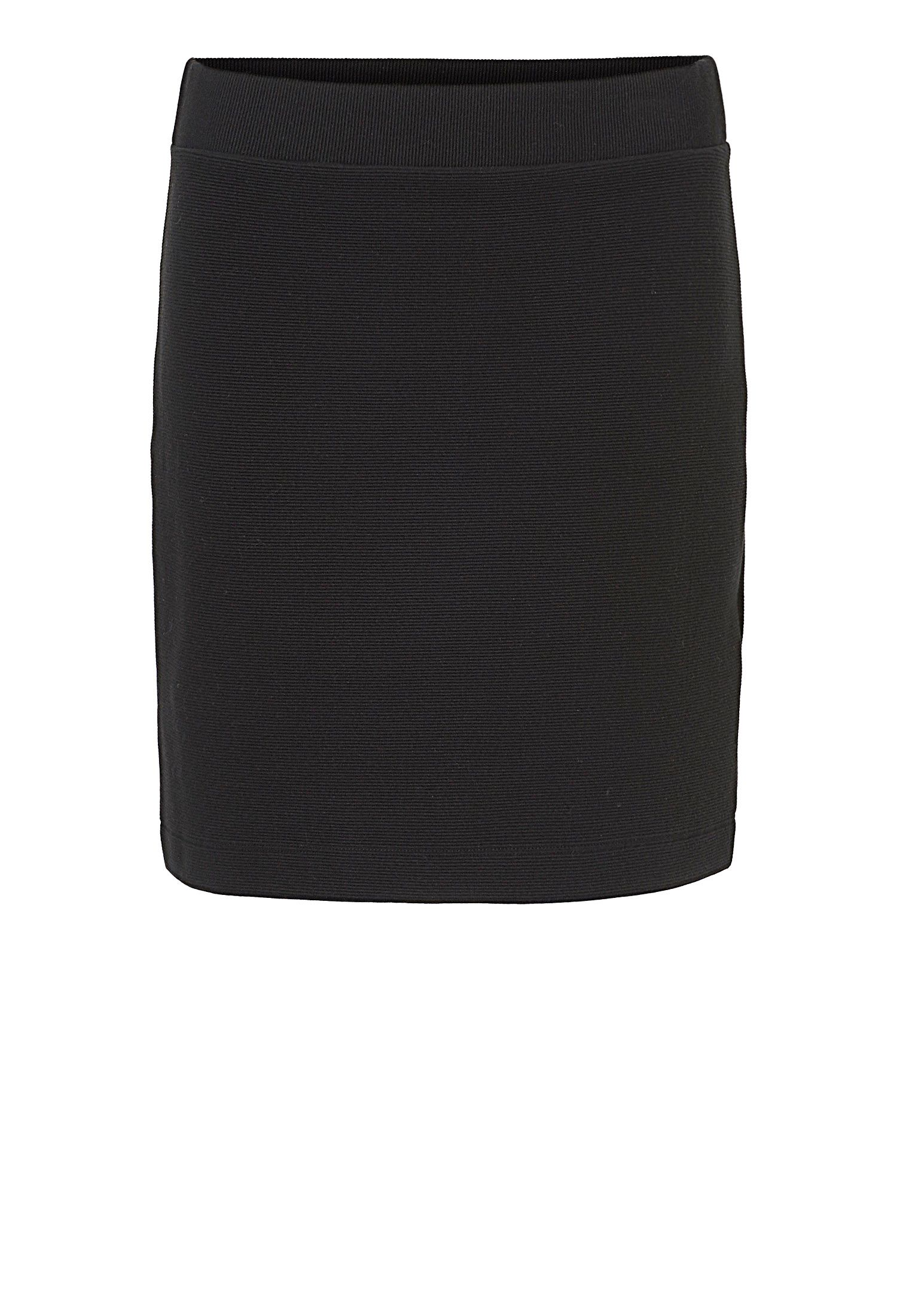 Betty & Co. Textured skirt, Black