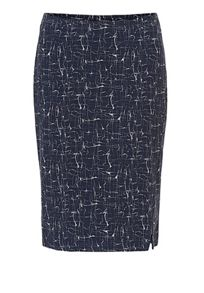 Betty & Co. Graphic print pencil skirt