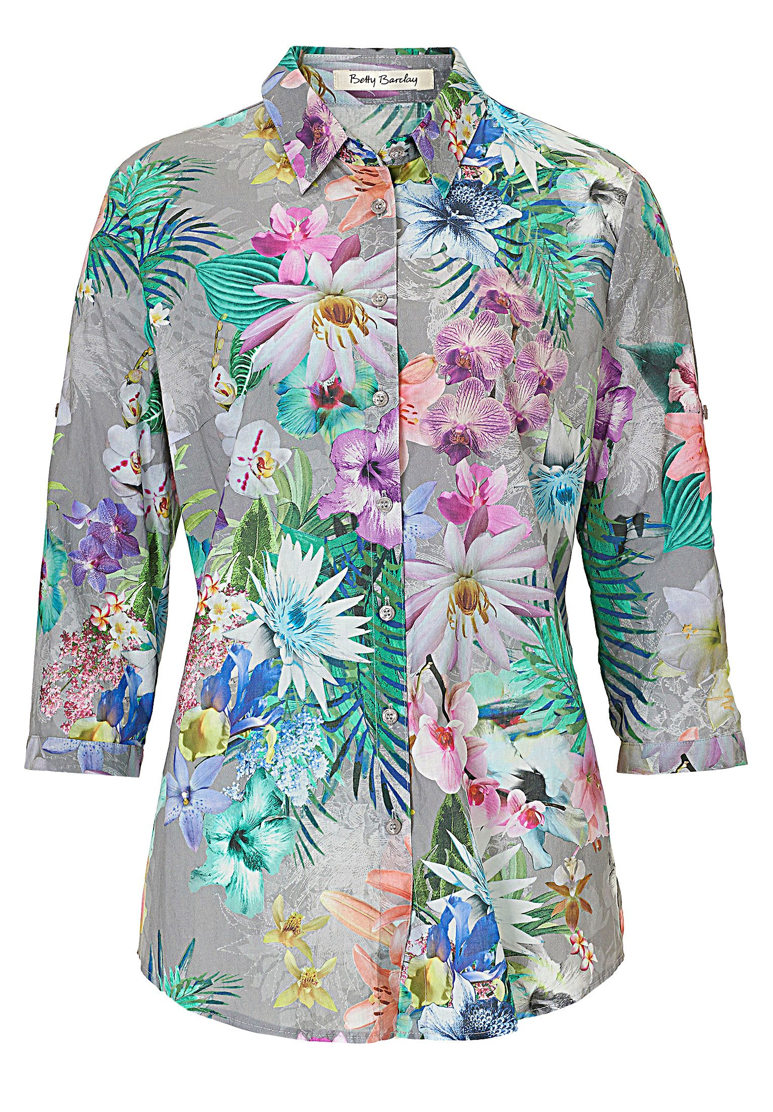 Betty Barclay Floral print blouse, Multi-Coloured