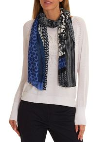Betty Barclay Long multi-print scarf