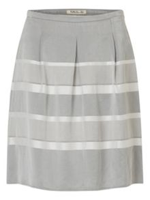 Betty Barclay Striped satin finish skirt