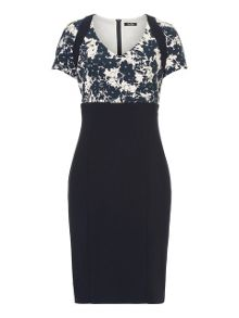 Vera Mont Printed jersey dress