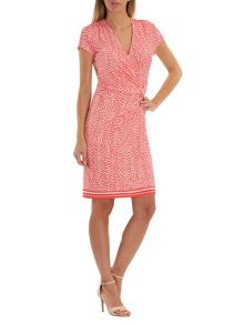 Vera Mont Dot print jersey dress