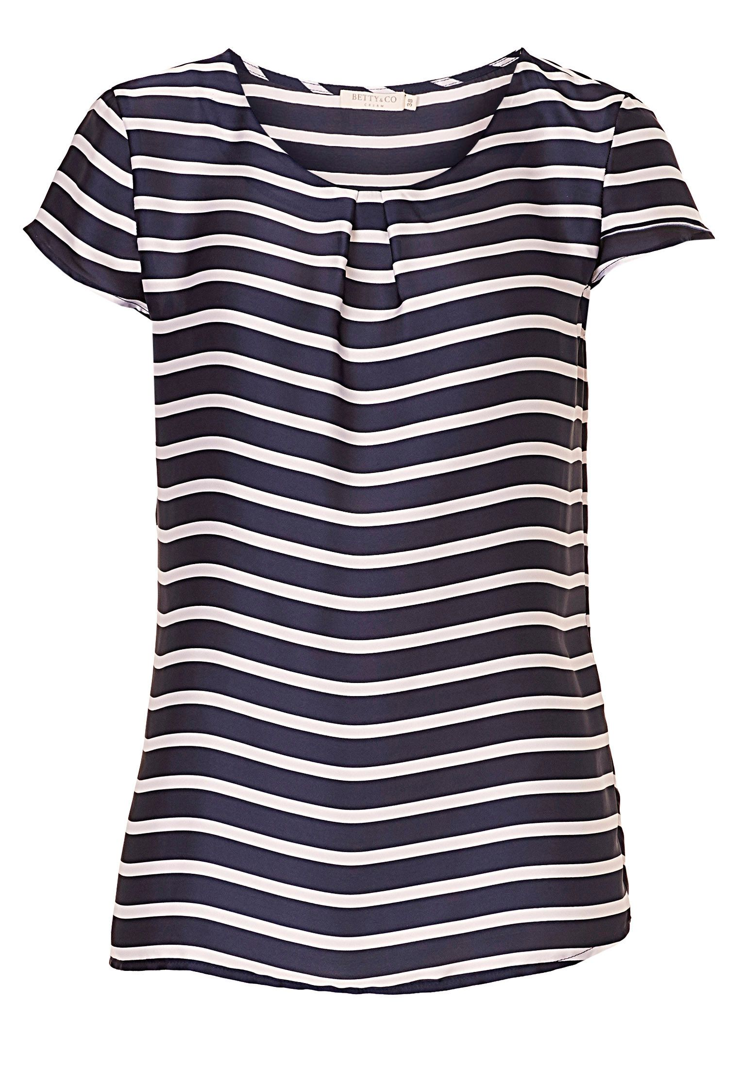 Betty & Co. Striped blouse, White