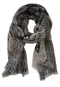 Betty & Co. Long graphic print scarf