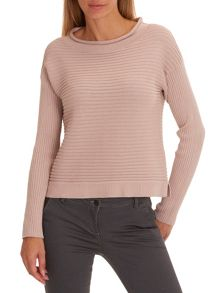 Betty & Co. Raised rib jumper