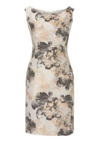 Vera Mont Printed satin dress