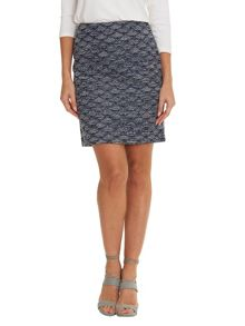 Betty & Co. Textured skirt