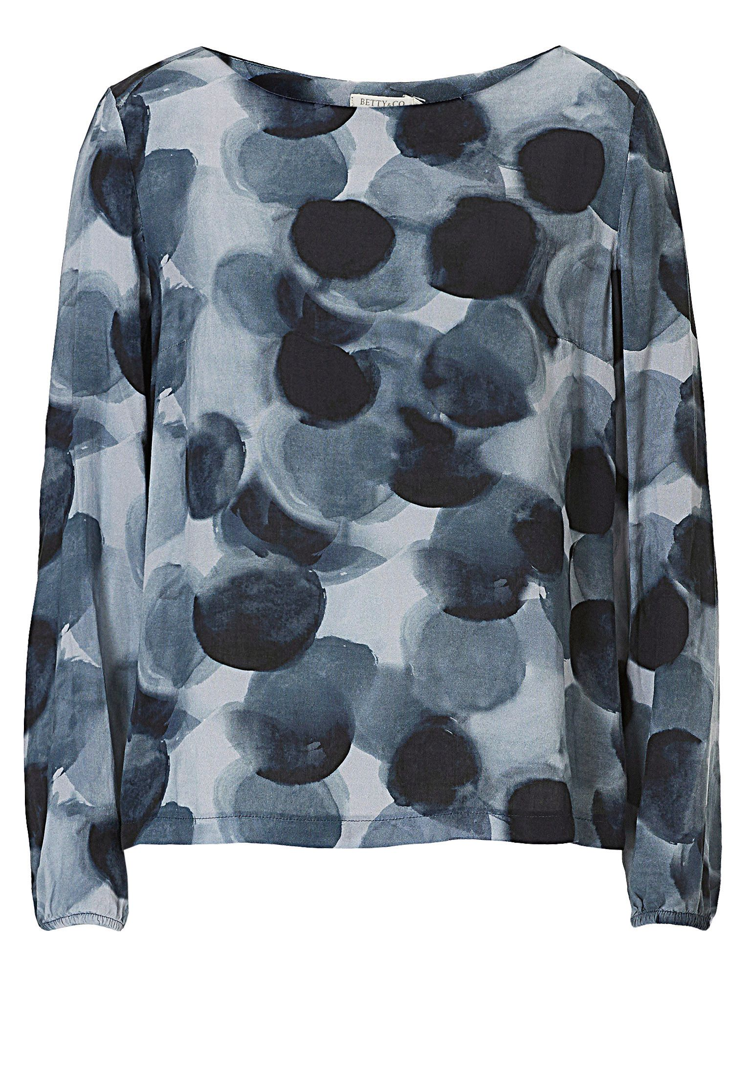 Betty & Co. Printed top, Blue