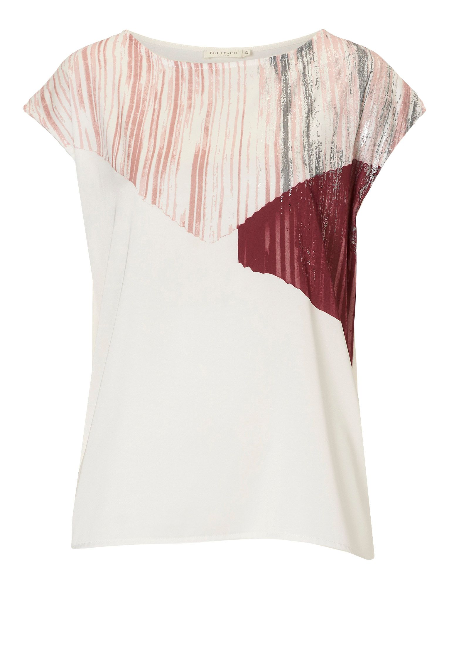 Betty & Co. Graphic print top, Multi-Coloured