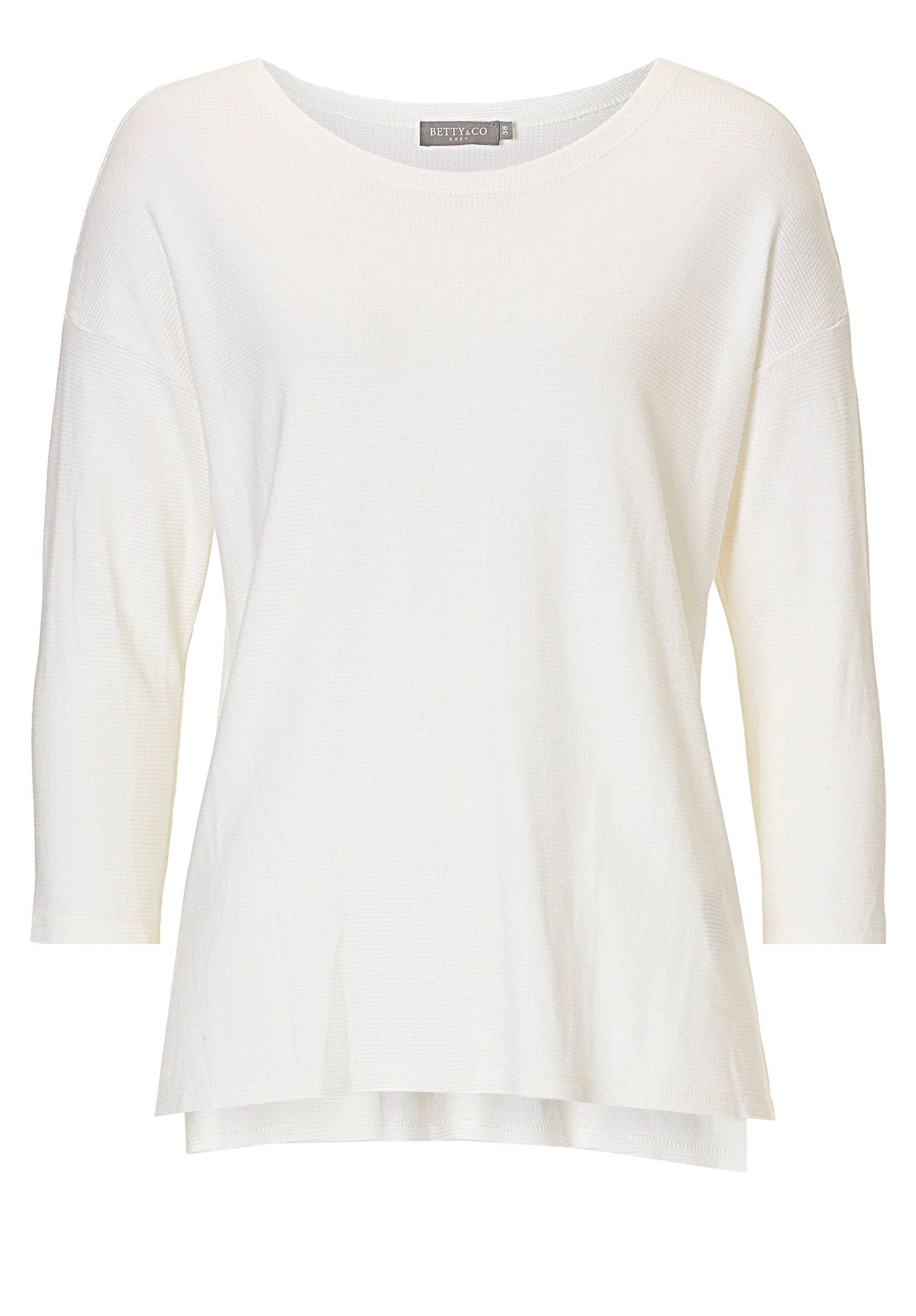 Betty & Co. Textured top, White