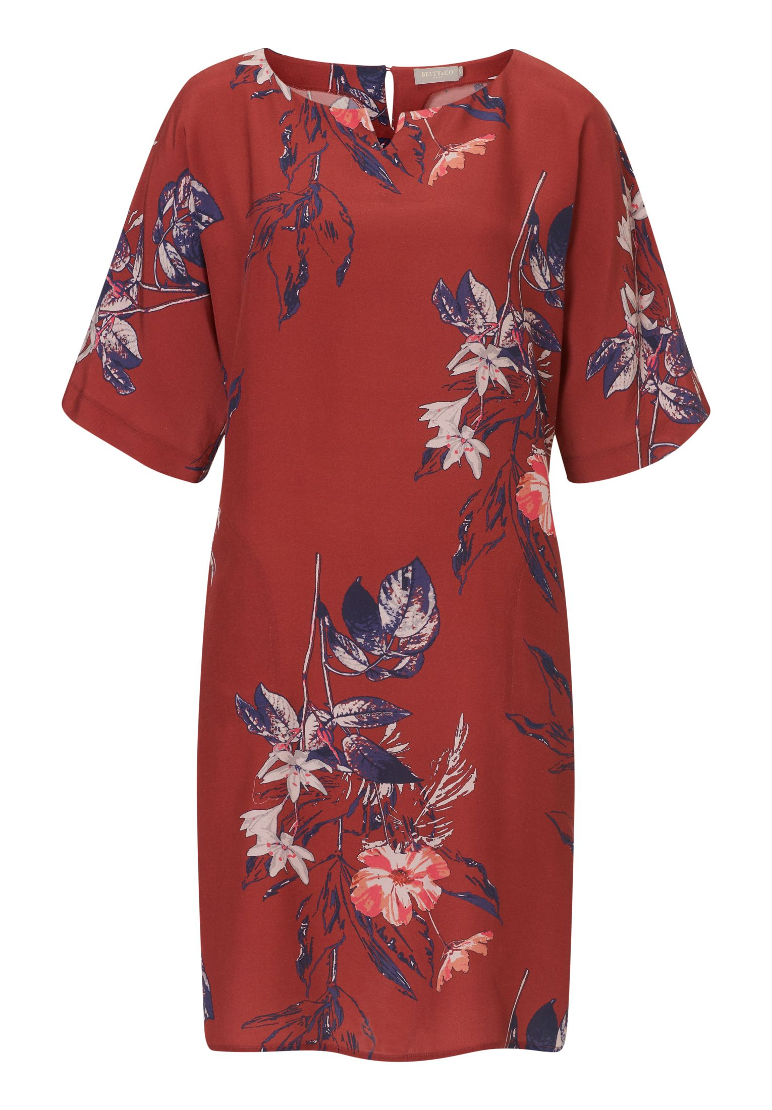 Betty & Co. Floral print dress, Dark Red
