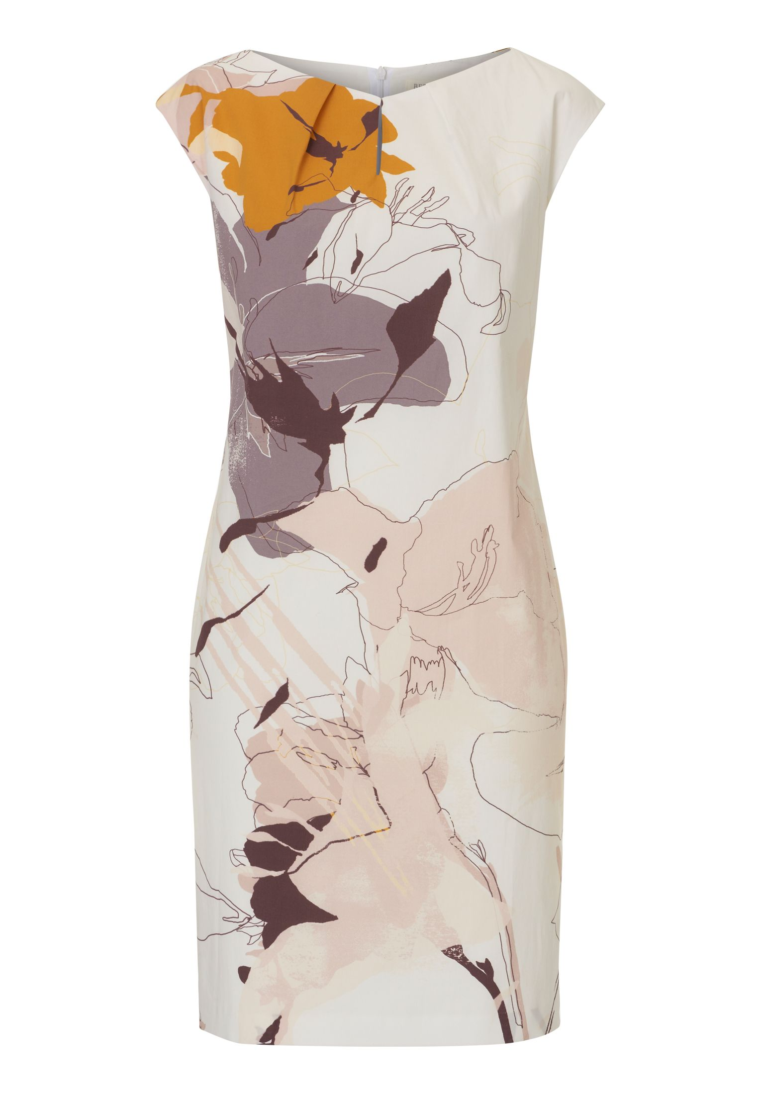 Betty & Co. Floral print shift dress, Multi-Coloured