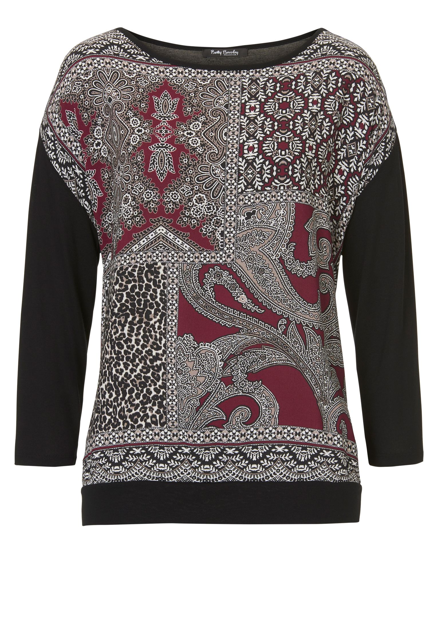 Betty Barclay Paisley print top, Multi-Coloured