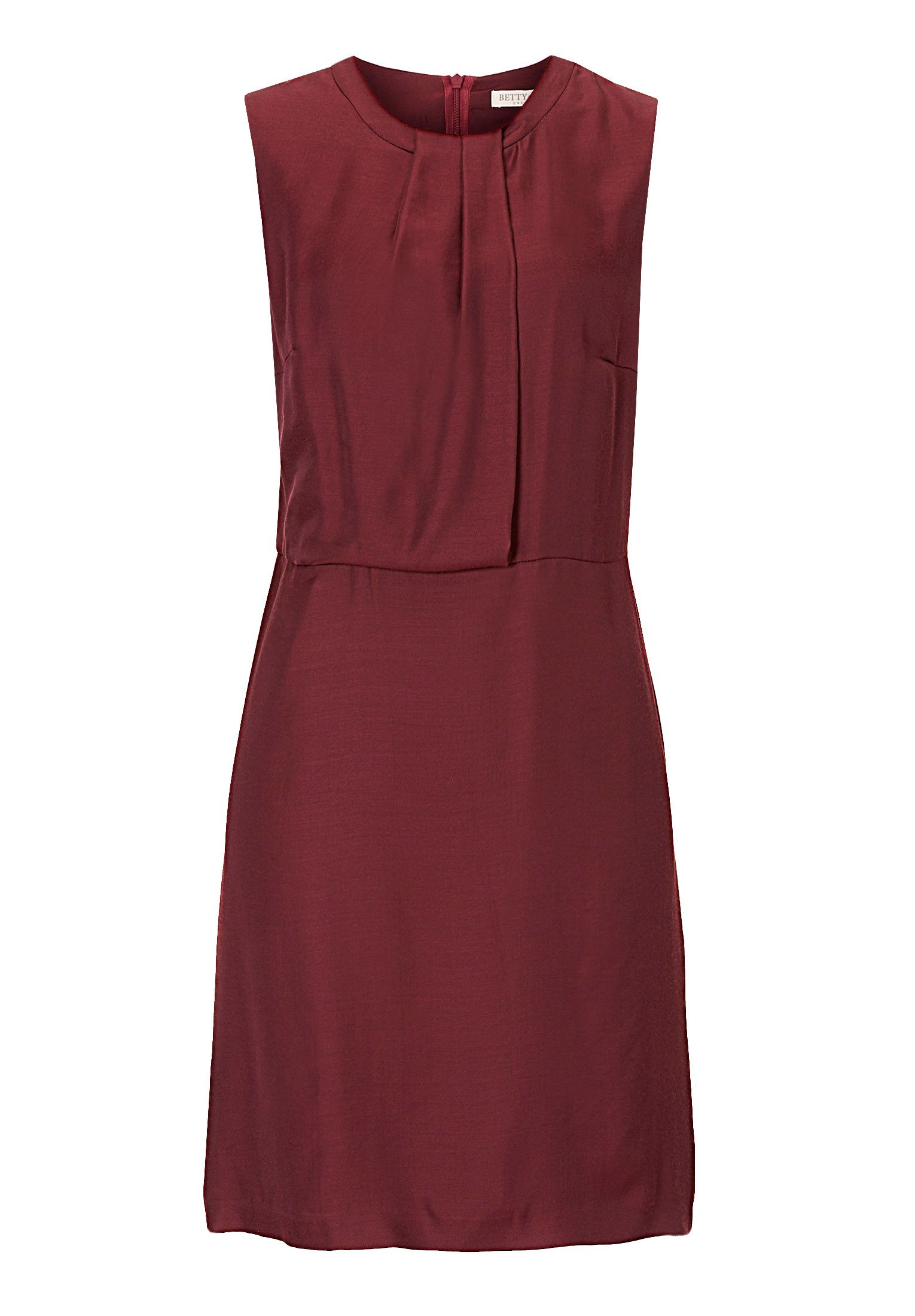 Betty & Co. Satin shift dress, Red