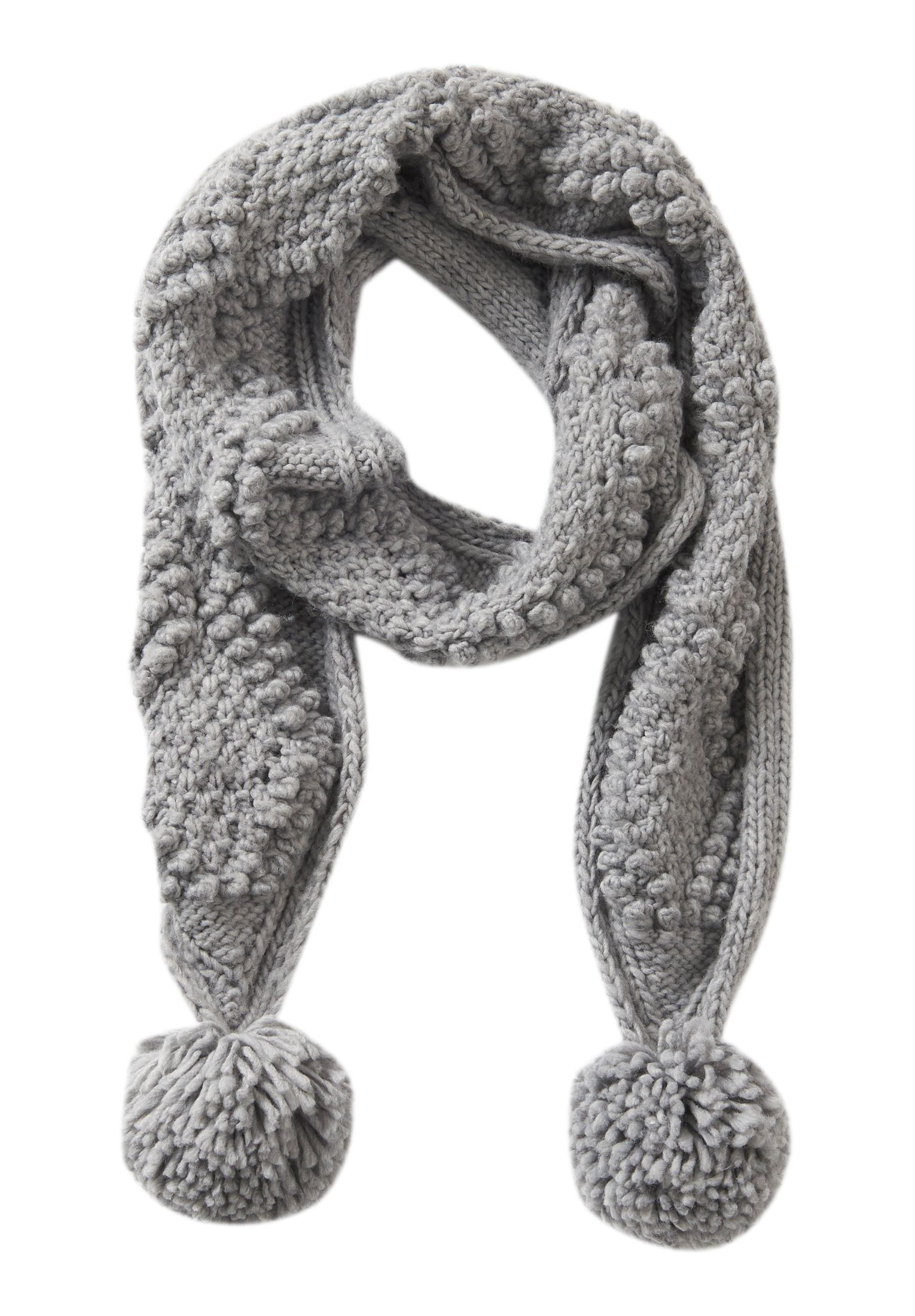 Betty Barclay Chunky knit scarf, Light Grey