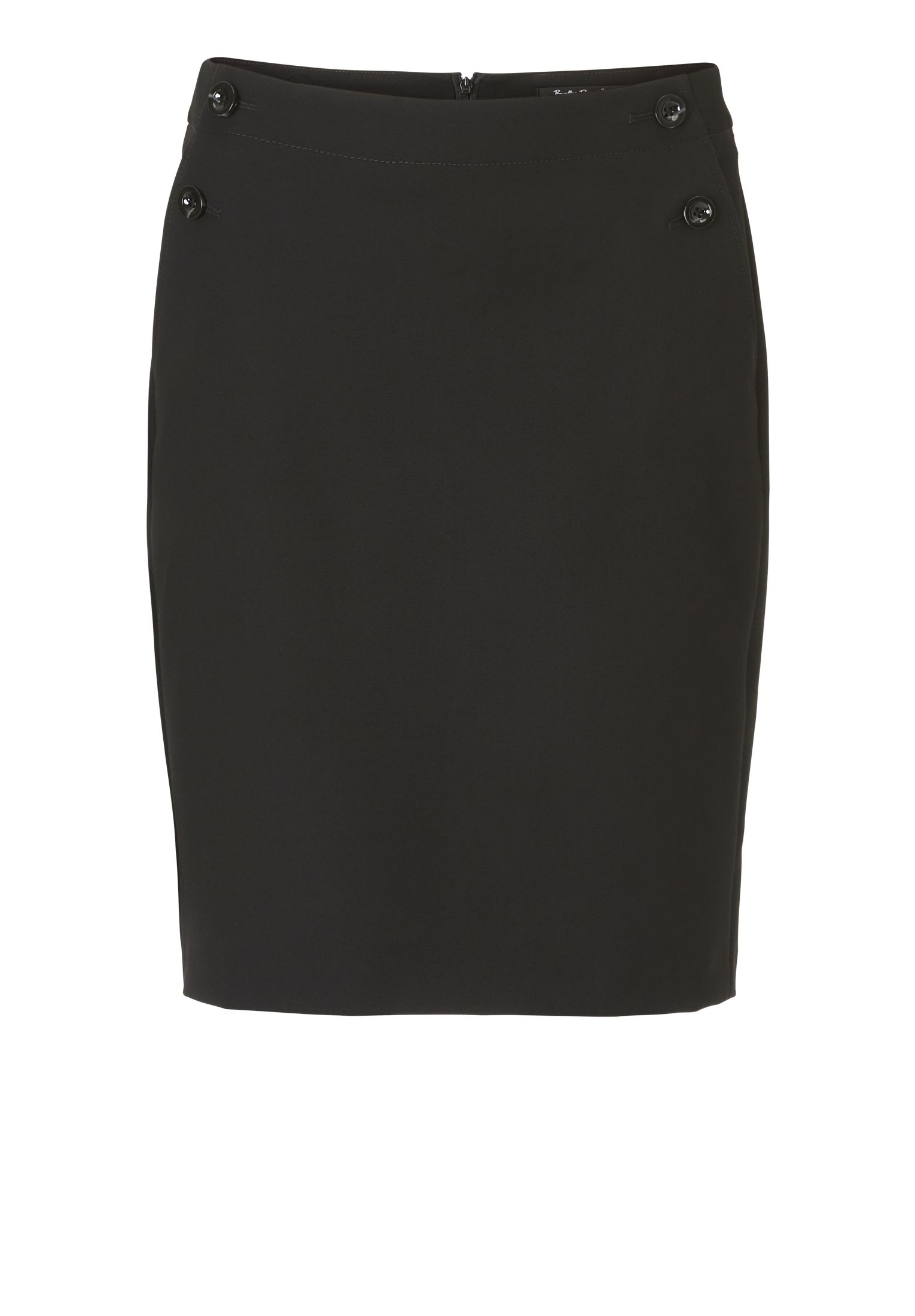 Betty Barclay Crêpe pencil skirt, Black
