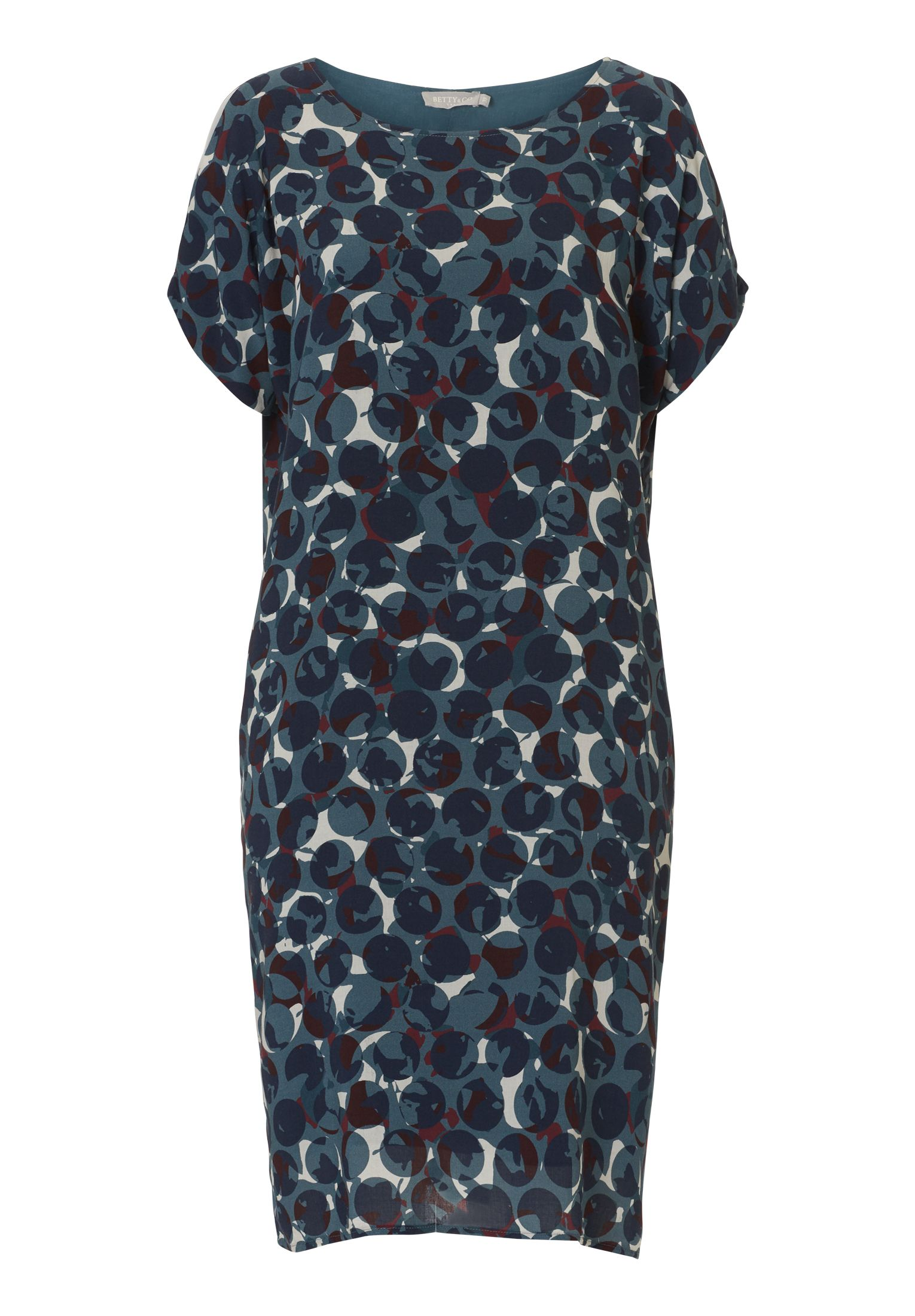 Betty & Co. Graphic print dress, Multi-Coloured