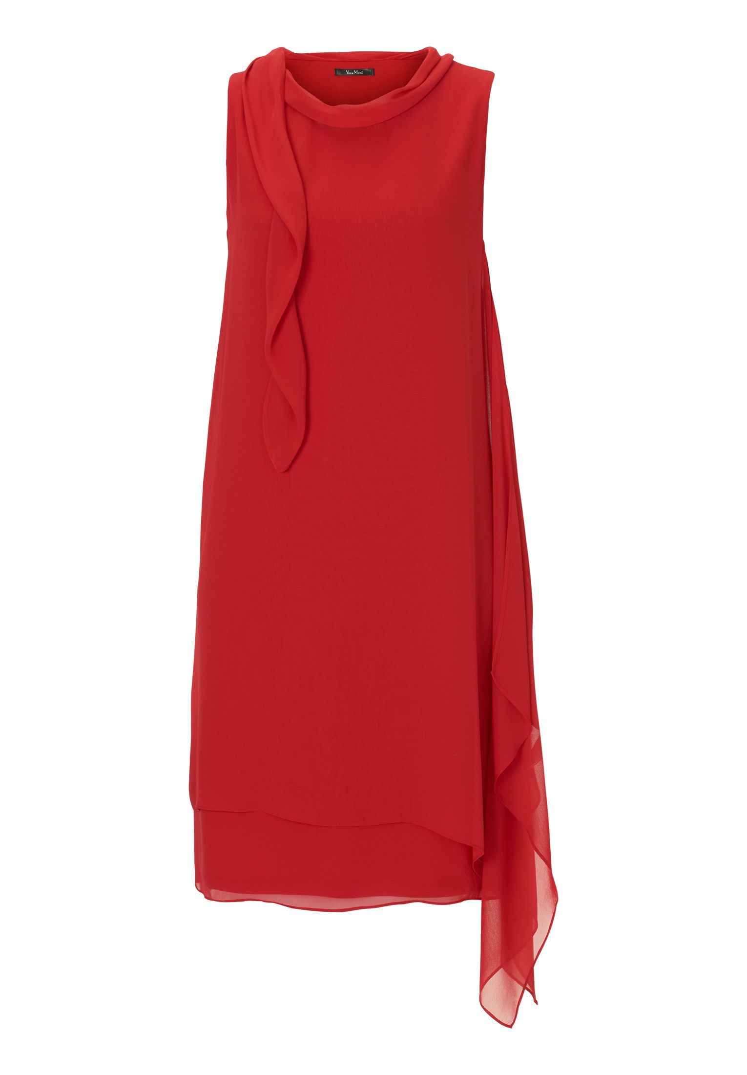 Vera Mont Chiffon dress, Red